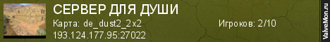 Статистика сервера +100500 Public World™ в мониторинге Valvemon.ru