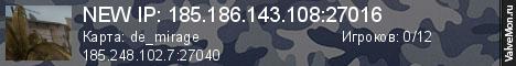 Статистика сервера d4lt Project #Retake №2 в мониторинге Valvemon.ru
