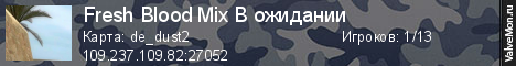 Статистика сервера v34 Onlimix Public 18+ в мониторинге Valvemon.ru