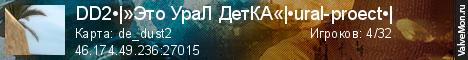 Статистика сервера .::18+ URAL PROJECT CLASSIC  ural-proect ::. в мониторинге Valvemon.ru