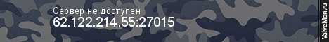 Статистика сервера KvN Club Public Server V34 в мониторинге Valvemon.ru